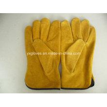 Driver Glove-Work Glove-Leather Glove-Gloves-Labor Glove-Cow Leather Glove-Safety Glove