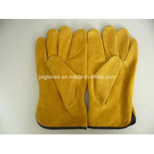 Driver Glove-Work Glove-Leather Glove-Gloves-Labor Glove-Cow Leather Glove-Safety Glove