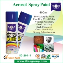 I-Like Good Quality 100 Acrylic Exterior Paint Spray