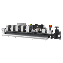 Máquina de impresión offset de etiquetas autoadhesivas Ztj330