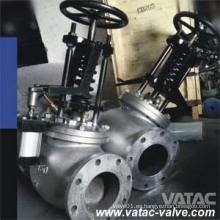 JIS Std hierro fundido / acero fundido Wcb / Lcb / CF8 / CF8m / CF3 / CF3m válvula de cierre de emergencia