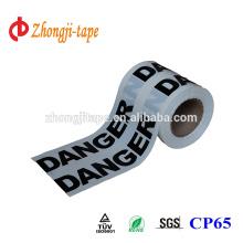 Ширина 15см белый предупреждение ленты PE