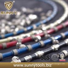 11.5mm Rubber Diamond Wire Saw for Granite Granite Block Cutting