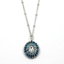 Rhinestones Stones Crystal Pendant Fashion Jewelry Necklace