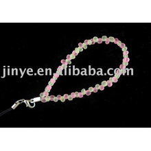 mode verre transparent perles bracelet