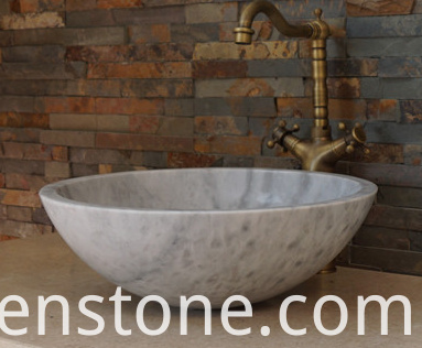 marble wash bowl