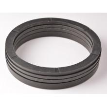 Cylindre mécanique V Joint de caoutchouc textile