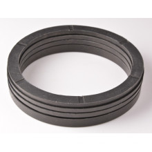 Mechanical Cylinder V Textile Rubber Seal