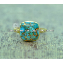 Joyería de la manera de la plata esterlina de la piedra preciosa 925 de la turquesa