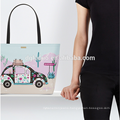 Large capacity printing waterproof women bag handbag lady tote bag