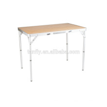 Camping furniture aluminum folding camping table