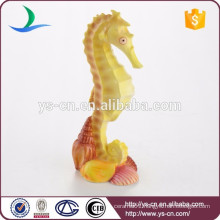 Cute ceramic sea horse decoration for home