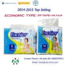 Encaier Brand Factory Nappines baratos del bebé / pañales del bebé