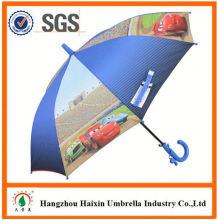 Professionelle Auto Open süß drucken benutzerdefinierte Form Regenschirm