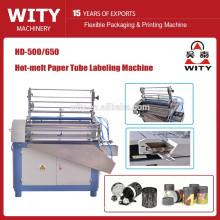 Máquina de etiquetado de tubo de papel automático HD-500/650