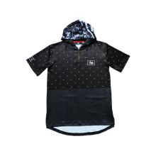 Impermeabilice el nuevo diseño Jersey de la sudadera con capucha para los deportes al aire libre usan (T5034)