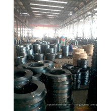 Q195 Q235 Blue Steel en acier et sangle d'emballage du fabricant