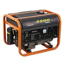 Портативный пластиковый топливный бак 2,5 кВт бензиновый генератор (WH3500-X)