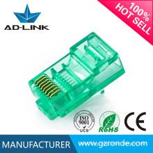 Conectores de cable macho y hembra Rj45