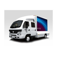 High End 10mm Truck Mobile Led Display Synchronous With Full Color Led Advertising Screen