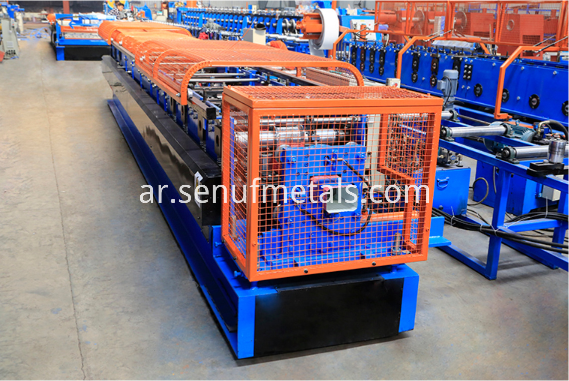 Downspout pipe forming machine 1