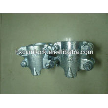 (2 bolts or 4 bolts) Interlocking clamp for steam hose coupling