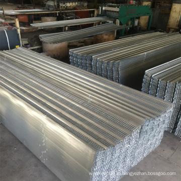 Нержавеющая сталь / горячеоцинкованная опалубка с высоким ребром