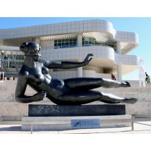 бронзовая характеристика литейного производства и литья технику обнаженная женщина скульптура