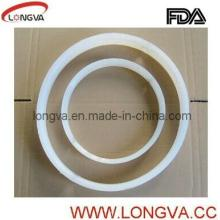 Food Grade Silicone Gasket for Butterfly Valves with FDA Certification