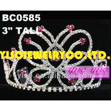 Concursos de cristal tiaras y coronas