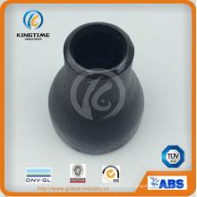 Con. reductor de tuberías con TUV (KT0049) de acero al carbono