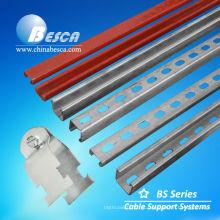 Canal HDG C com fenda - Fabricante -UL, CE, IEC, SGS, NEMA