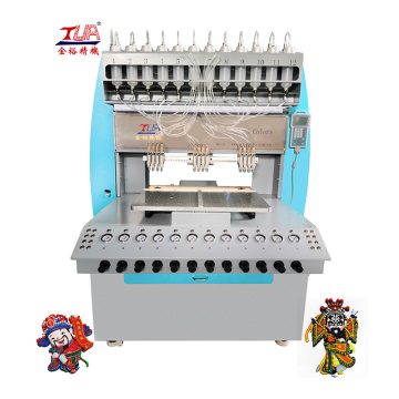 Low power consumption pvc souvenir making machine
