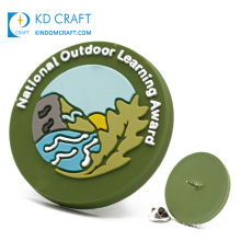 Manufacturer Cheap Custom Embossed 3D Eco-Friendly Private Label Soft PVC Rubber Patch Silicone Badge for Clothing