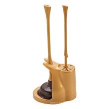 Tête de piston en plastique faite sur commande de brosse de PlasticToilet de toilette faite sur commande à haute pression avec le support