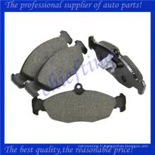 FDB1903 MJA2751AA JLM21220 JLM21918 0986494413 usine de plaquettes de frein de voiture pour jaguar xk8