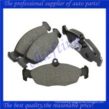 FDB1903 MJA2751AA JLM21220 JLM21918 0986494413 car brake pad factory for jaguar xk8