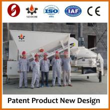 Мини-мобильные передвижные бетонные заводы только в Китае