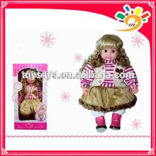 Intelligent speaking doll lovely Intelligent toys for baby