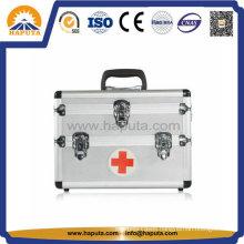 Aluminium First Aid Medical Box with 3 Key Locks (HM-2008)
