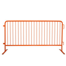 Powder Coating disesuaikan Metal Crowd Control Barrier