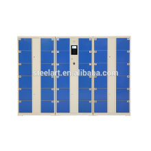 24 Doors Used Coin Operated Non Free Storage Locker