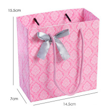 Paper Shopping Bag with Butterfly Ornament