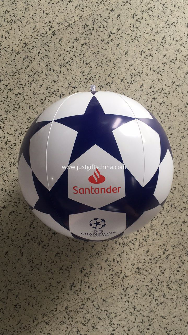 EUFA Santander inflatable beach balls