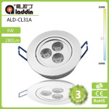 Special Price Hole Size 70mm~75mm 3w High Power Led Ceiling Spot Light