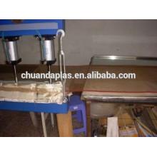 ptf teflon screen printing dryer conveyor belt, open mesh belt conveyor, manufacturer from Taixing