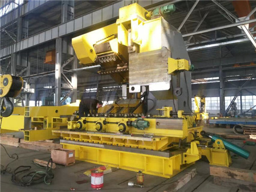 sprial welded pipe machine
