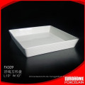 China Hersteller Dinner Hochzeit rechteckige Platte
