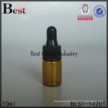 10ml amber perfume oil egypt glass bottle, black special dropper bottle, essential oil dubai