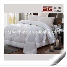 Hot White venta de cama King Venta al por mayor Aire acondicionado de uso de la habitación 200GSM Duvet